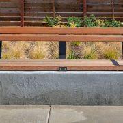 Stylish Street Bench