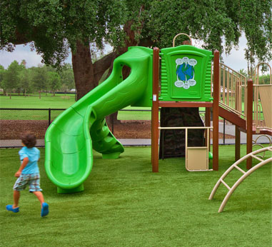 Artificial Turf Playground - Suttle Recreation, Vancouver BC