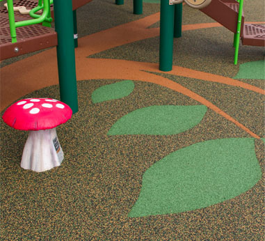 Playground Poured in Place Safety Surfacing - Vancouver BC